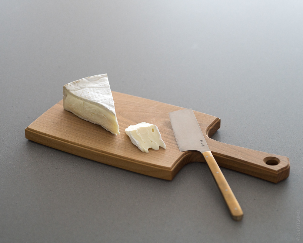 AZMAYA_Cheese Board & Cheese Knife