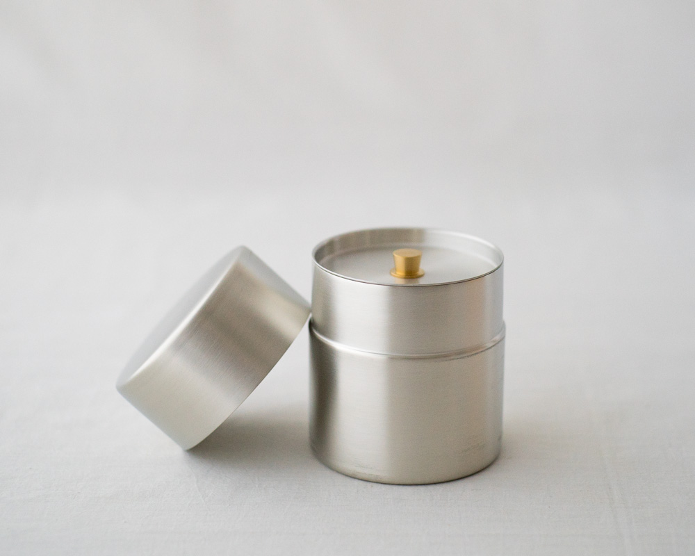 Tea Canister | Tin Plated Copper