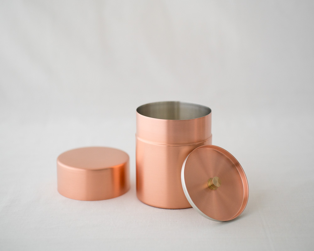 Tea Canister | Copper