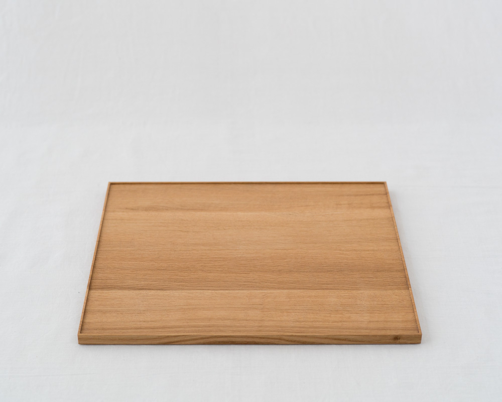 Oak Wood Tray_L