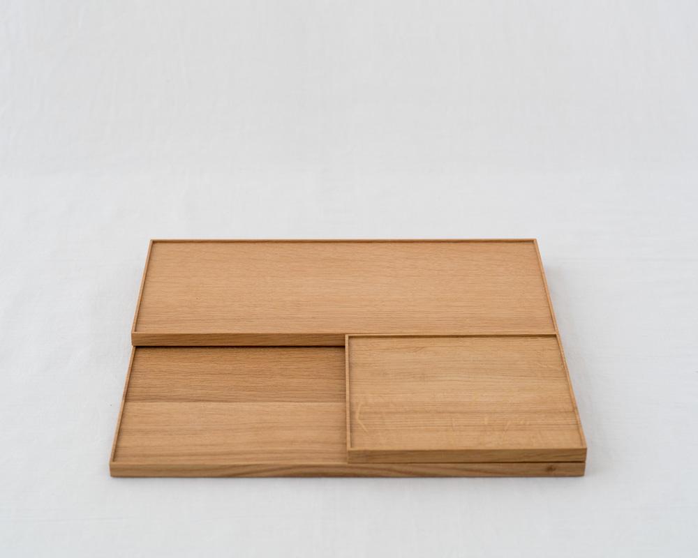 Oak Wood Tray