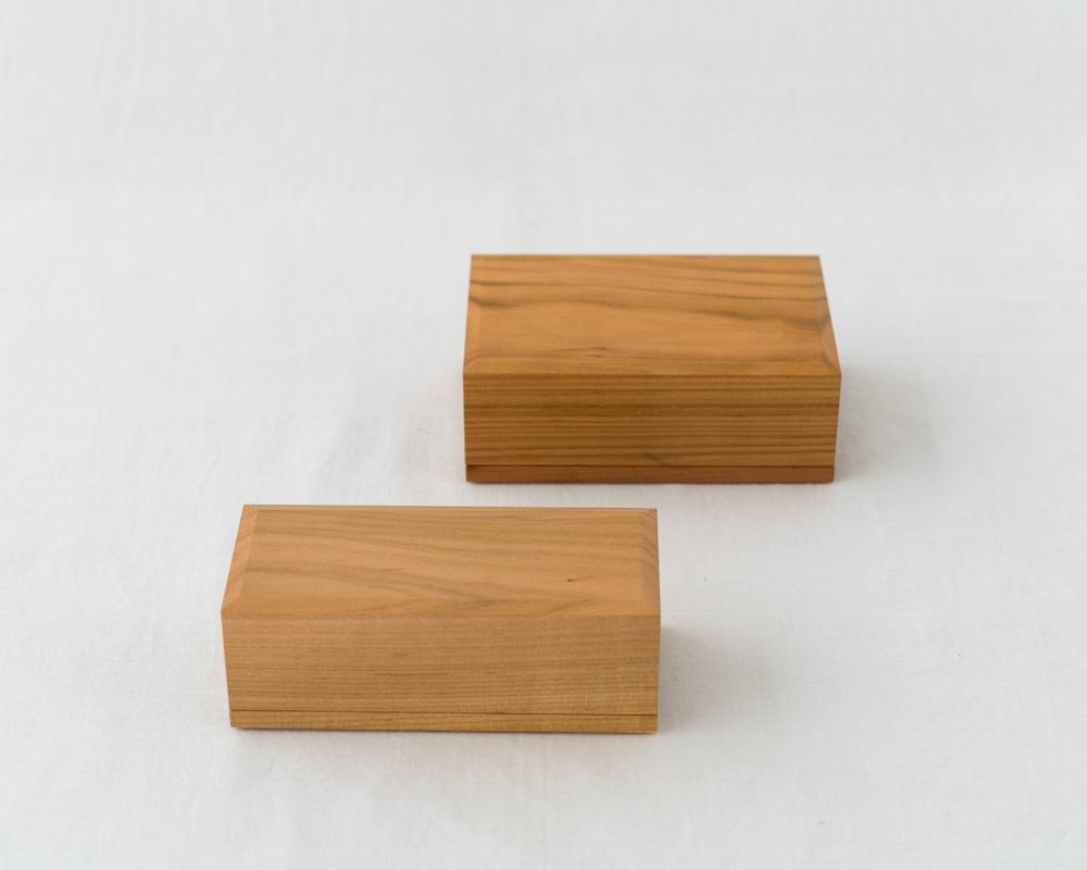 Azmaya Cherry Wood Butter Case 200G