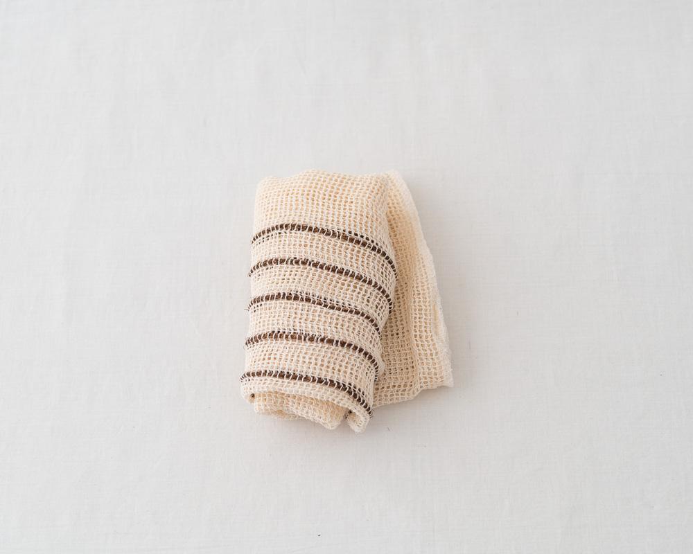 Takada Japanese Shuro and Silk Body Towel