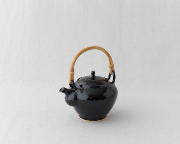 Azmaya Iga Dobin Teapot - Kuroame