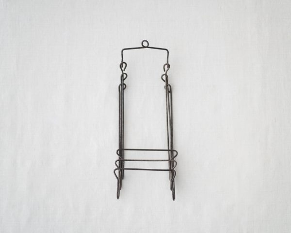Osamu Saruyama_Metal Wire Folding Rack - 3 Layers