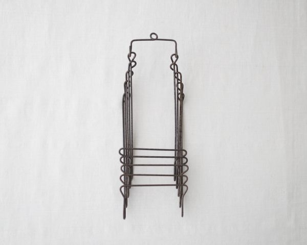 Osamu Saruyama_Metal Wire Folding Rack - 5 Layers
