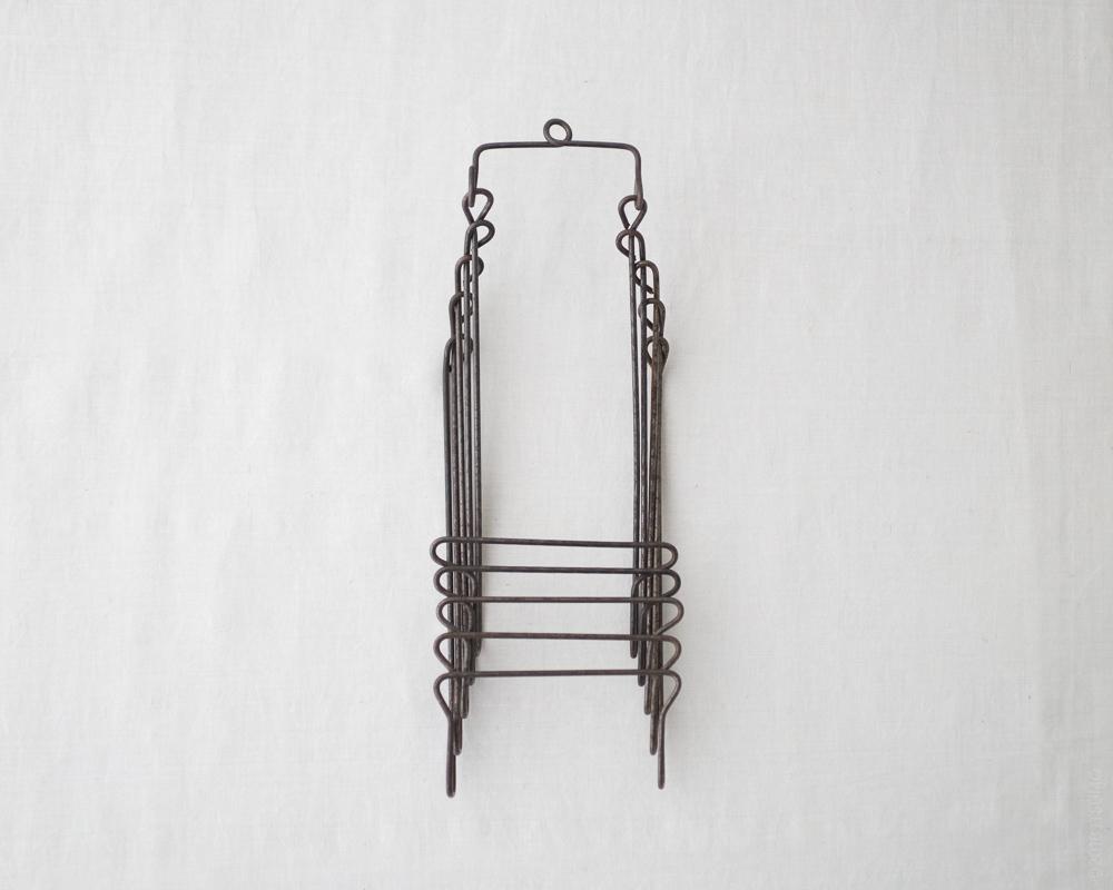 Osamu Saruyama_Metal Wire Folding Rack - 5 Layers
