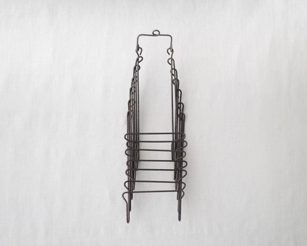 Osamu Saruyama_Metal Wire Folding Rack - 7 Layers