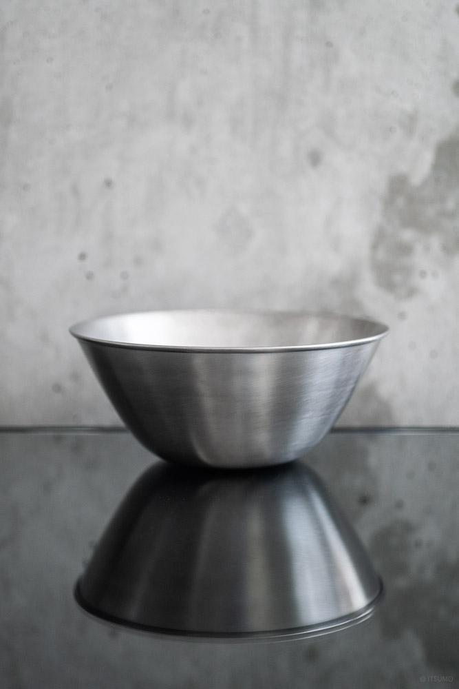 Sori Yanagi_Stainless Bowl_top