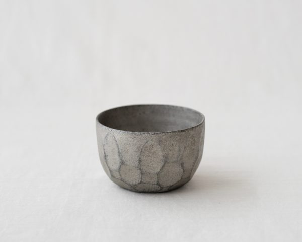 TSUKIHO Lacquered Wood Bowl_Silver