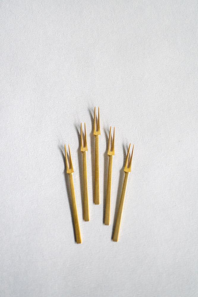 Hime Forks – Brass
