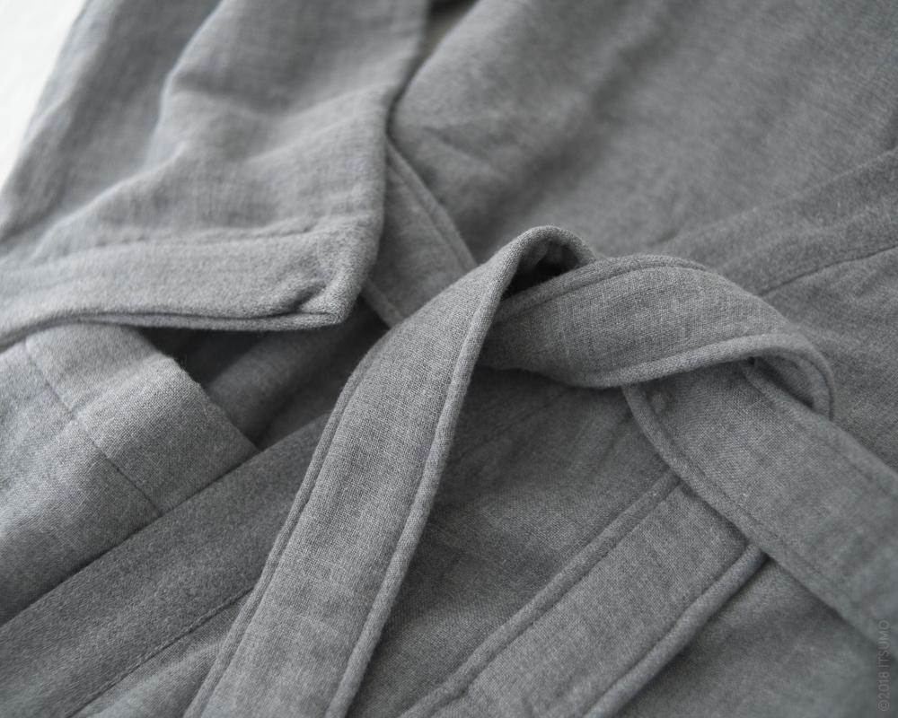 UCHINO_Sumi Gauze & Pile-Kimono-Robe_Grey-3