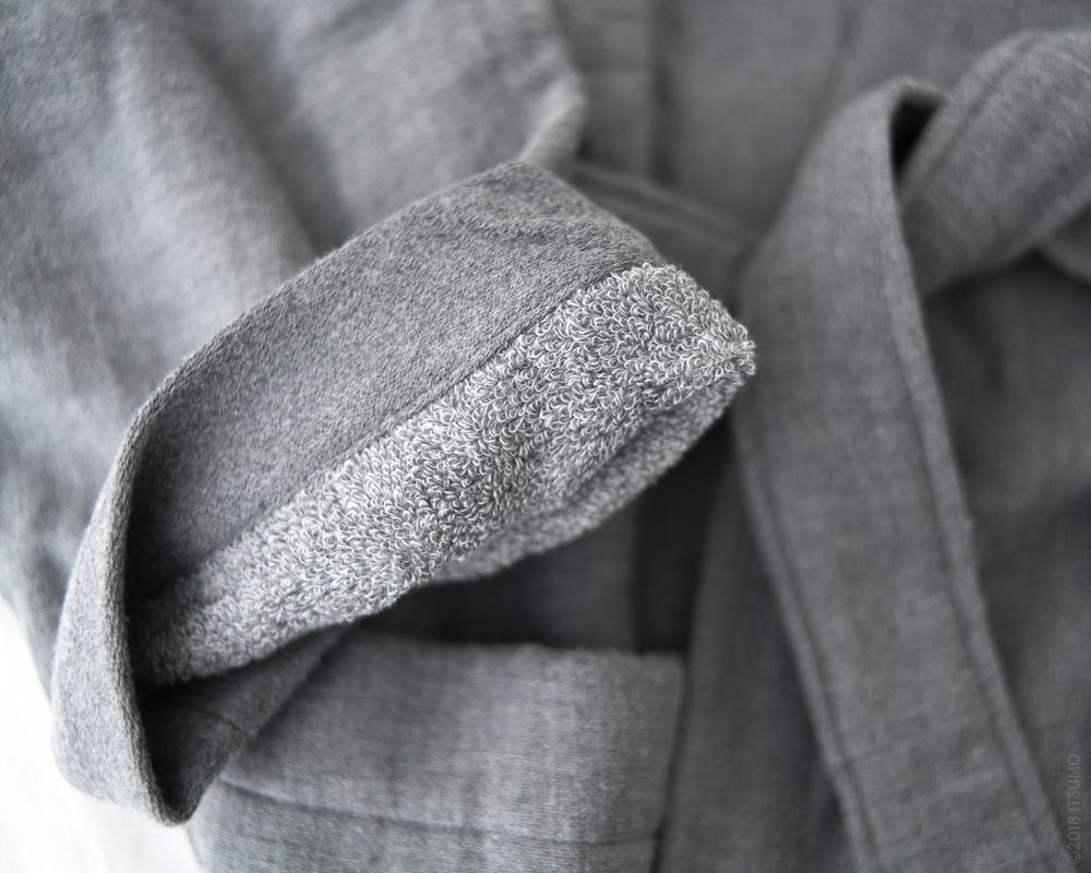 UCHINO_Sumi Gauze & Pile-Kimono-Robe_Grey-4
