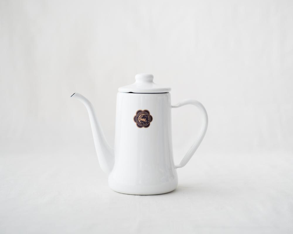 TSUKIUSAGI_Slim Pot_White