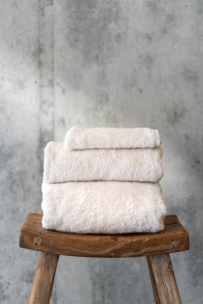 Uchino_Super Marshmallow Towel_beige_top