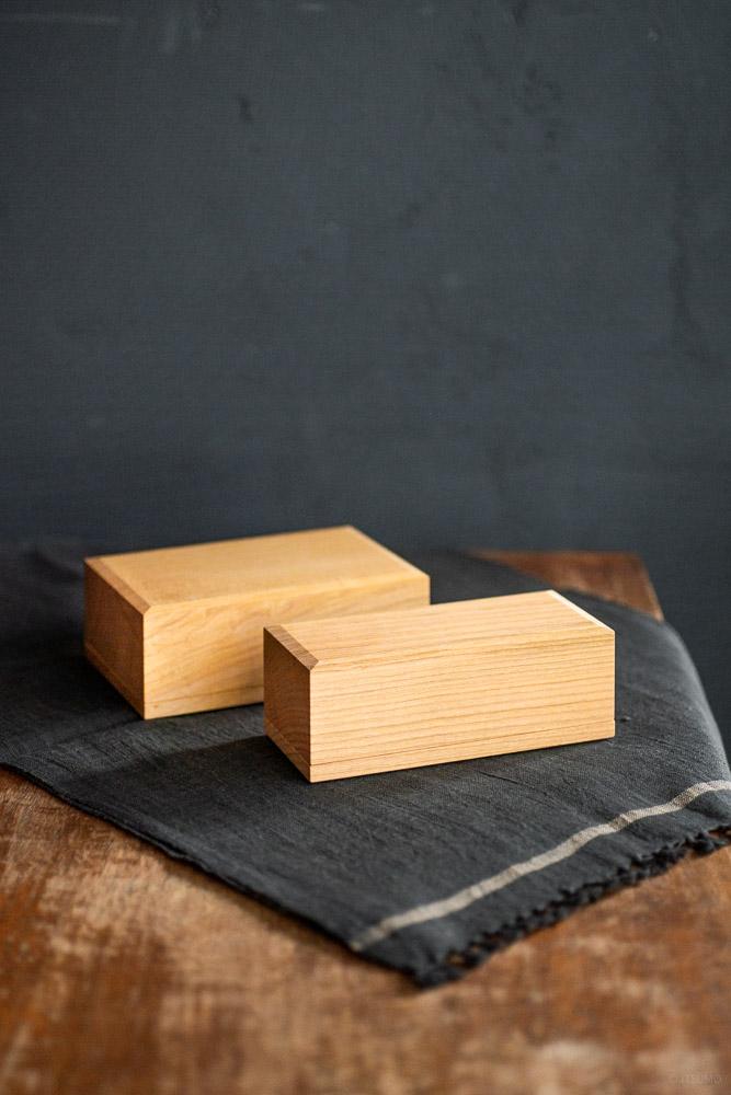 Cherry Wood Butter Case