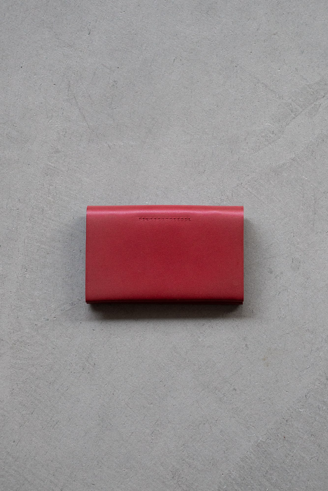 Postalco_Card Holder_signal red_top