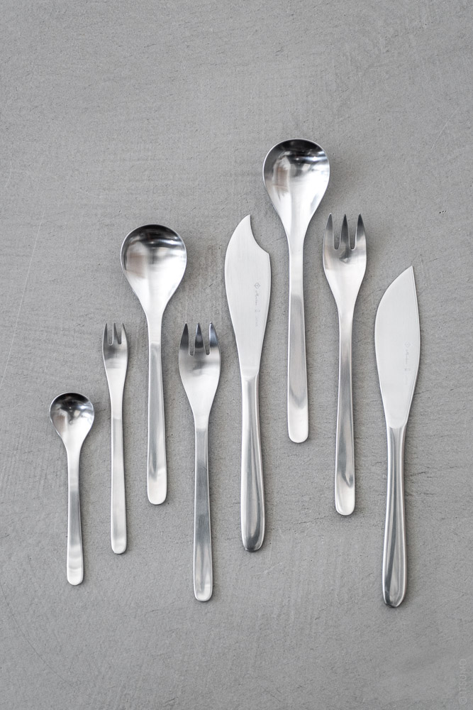Sori Yanagi_Stainless Cutlery_top
