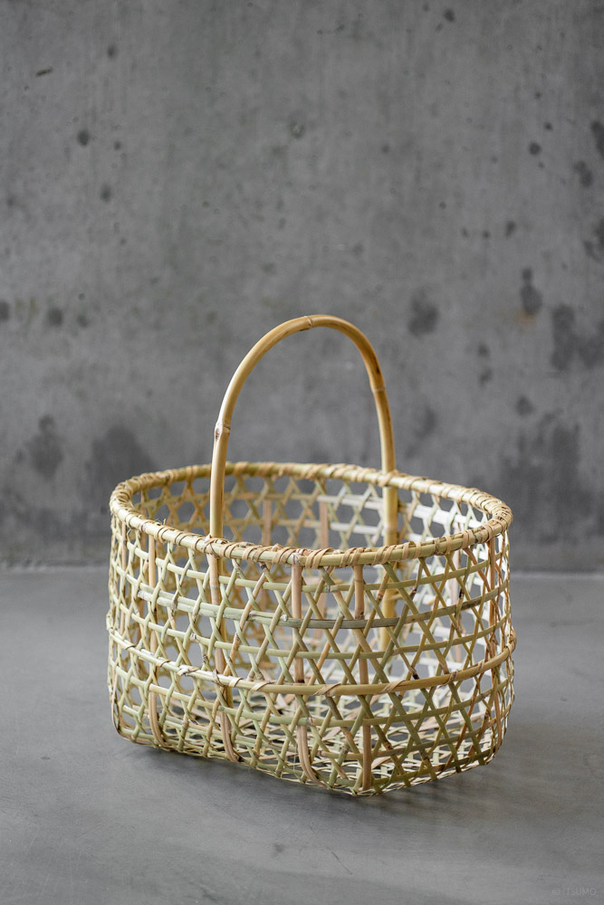 Bamboo Orchard Basket_top