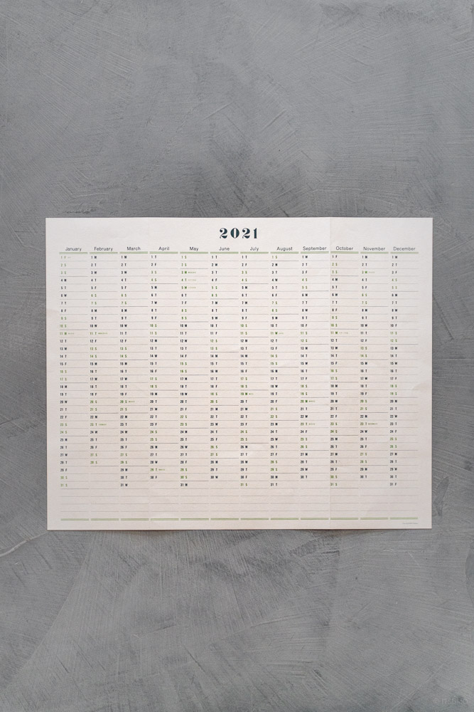 Postalco_One Year Wall Calendar 2021_top