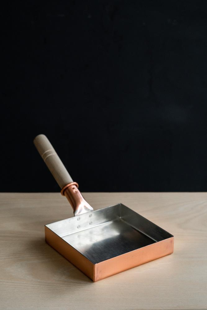 Copper Tamago Frying Pan – Square