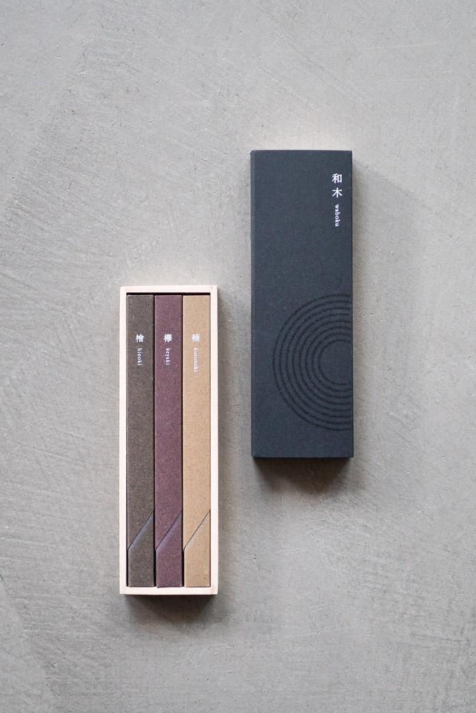 Kousaido Incense – Waboku Set