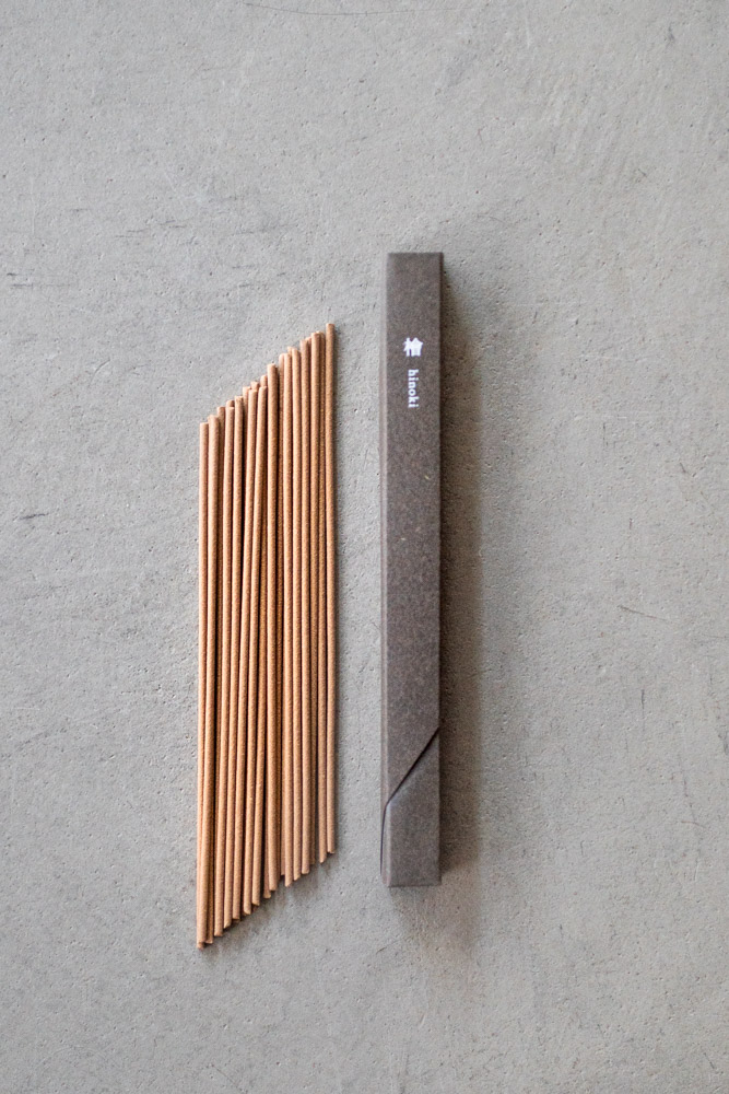 Kousaido Incense – Waboku Hinoki Wood