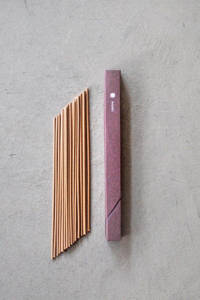 Kousaido Incense – Waboku Keyaki Wood