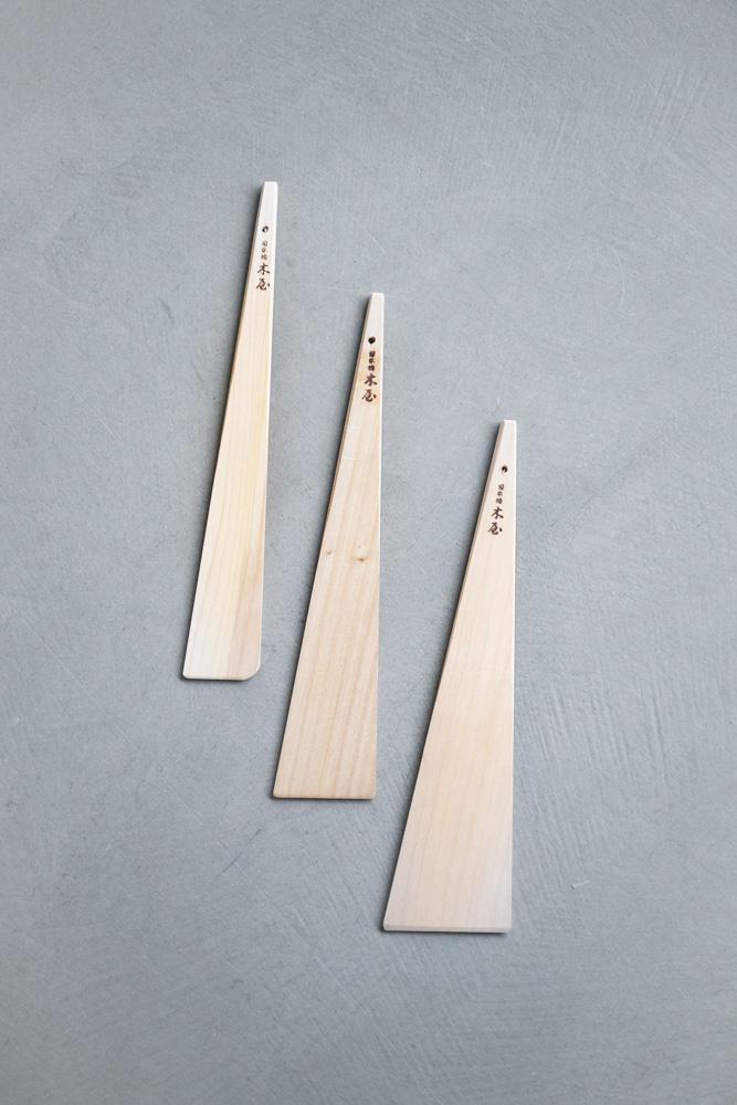 Triangular Wooden Spatula
