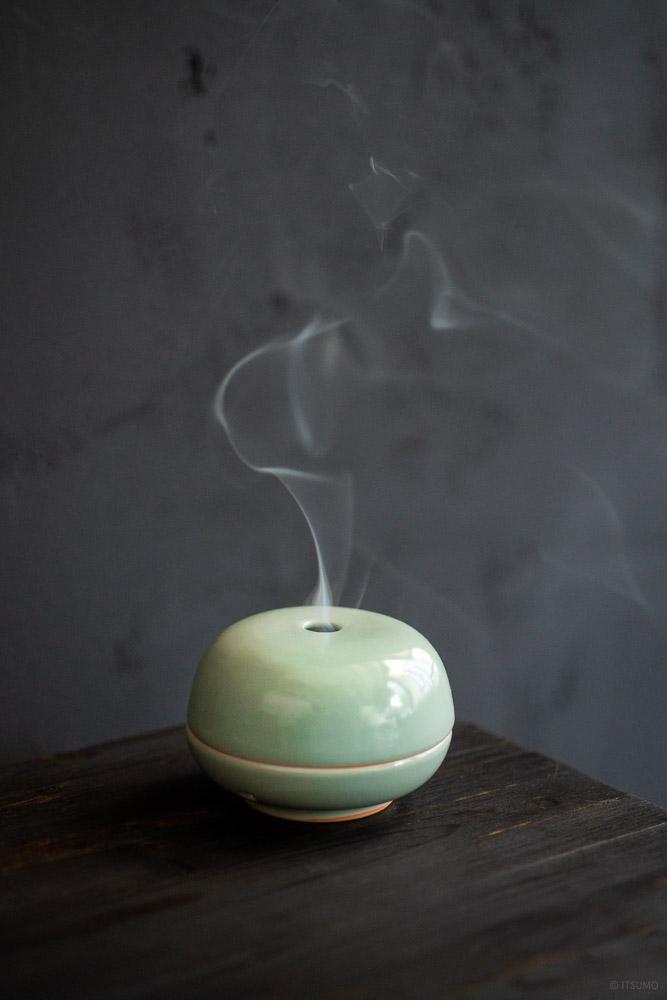 Celadon Incense Coil Burner